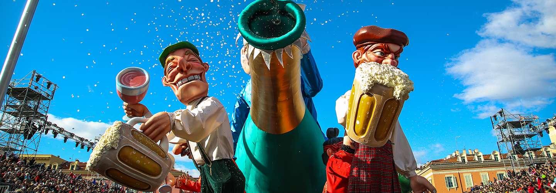 Voyages Rubio - Voyages de groupe - Le Carnaval Nice et Menton