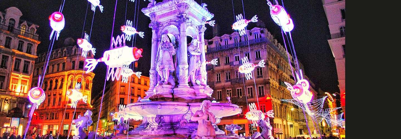 Voyages Rubio - Voyages de groupe - La Fête des lumières à Lyon