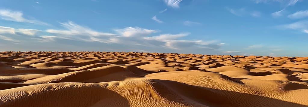 Les Voyages RUBIO vous emmènent dans le désert du sud tunisien