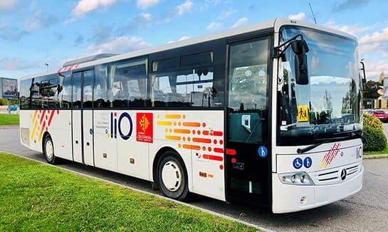 Voyage Rubio à Narbonne - Notre flotte de bus - Ligne équipé PMR