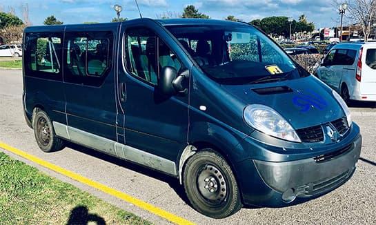 Voyage Rubio à Narbonne - Notre flotte de bus - Véhicule 9 places